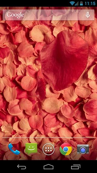 Petals 3D Live Wallpaper скриншот 4