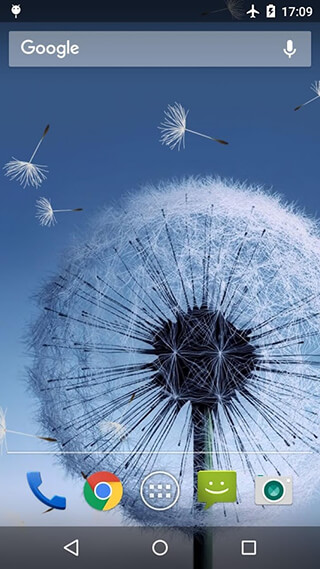 Dandelion Live Wallpaper скриншот 1