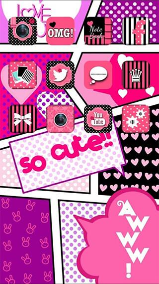Icon Wallpaper Dressup: CocoPPa скриншот 1