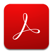 Adobe Acrobat Reader иконка