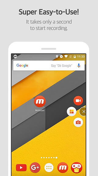 Mobizen Screen Recorder: Record, Capture, Edit скриншот 2