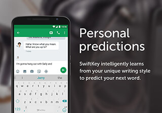 SwiftKey Keyboard скриншот 1