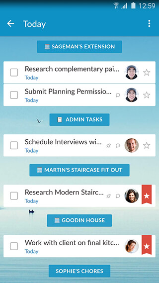 Wunderlist: To-Do List and Tasks скриншот 2