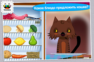 Toca Kitchen скриншот 4