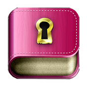Diary with Lock Password иконка