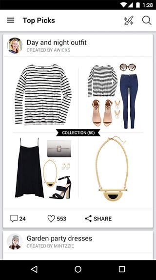 Polyvore Style: Fashion to Buy скриншот 1