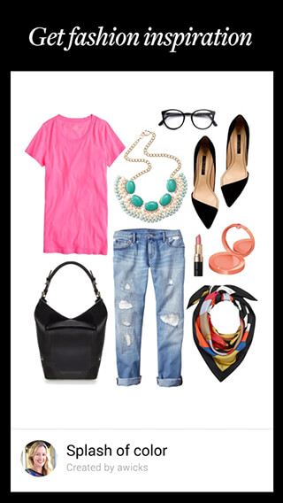 Polyvore Style: Fashion to Buy скриншот 2