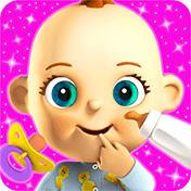 Talking Babsy Baby: Baby Games иконка