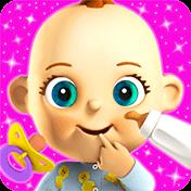 Talking Babsy Baby: Baby Games иконка