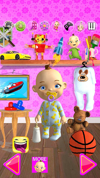 Talking Babsy Baby: Baby Games скриншот 1