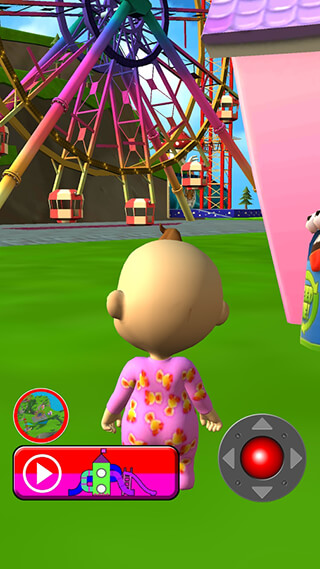 Talking Babsy Baby: Baby Games скриншот 3