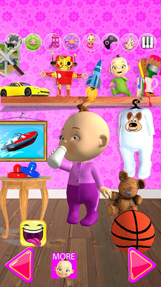 Talking Babsy Baby: Baby Games скриншот 4