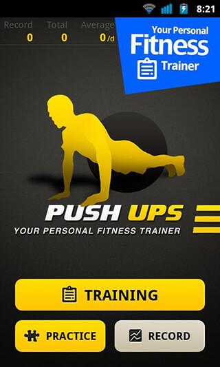 Push Ups Workout скриншот 1