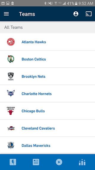 NBA App скриншот 4