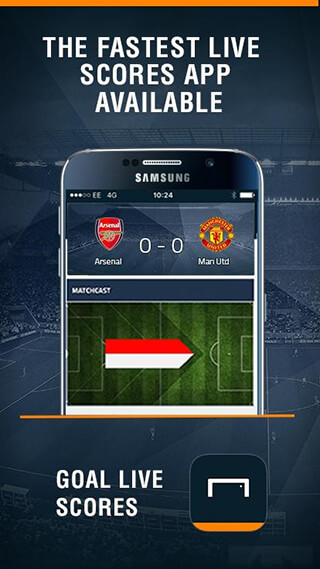 Goal Live Scores скриншот 1