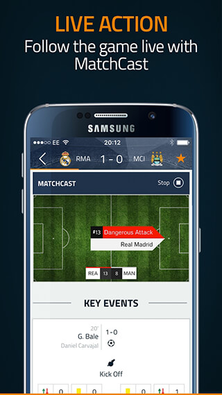 Goal Live Scores скриншот 3