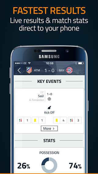 Goal Live Scores скриншот 4