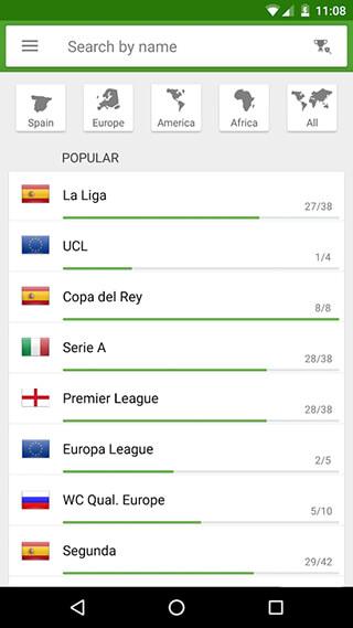 BeSoccer: Soccer Live Score скриншот 4