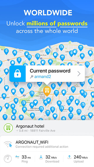 WiFi Map: Free Passwords скриншот 4