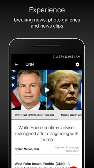CNN Breaking US and World News скриншот 3