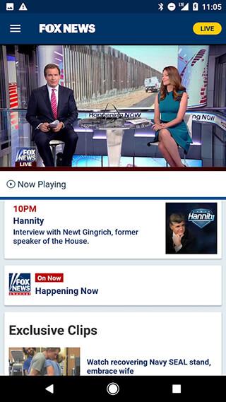 Fox News: Breaking News, Live Video and News Alerts скриншот 2