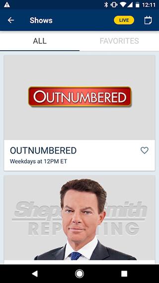Fox News: Breaking News, Live Video and News Alerts скриншот 4