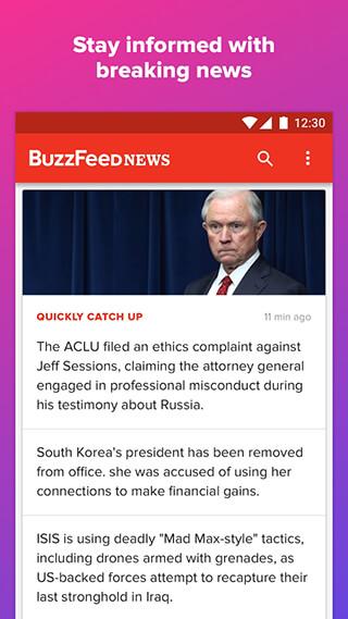 BuzzFeed: News, Tasty, Quizzes скриншот 3