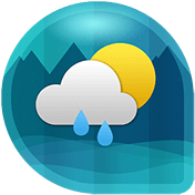 Weather and Clock Widget for Android иконка