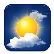 Amber Weather: Local Forecast, Live Weather App иконка