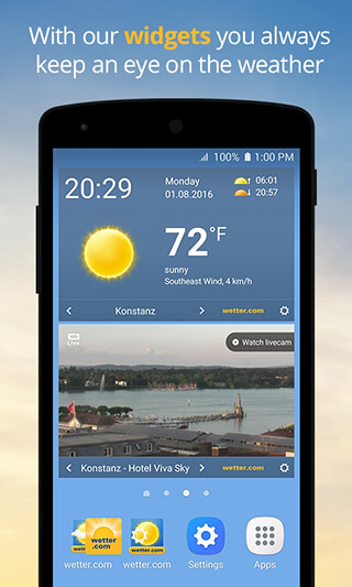 wetter.com: Weather and Radar скриншот 4