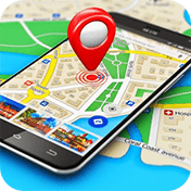 Maps, GPS Navigation and Directions, Street View иконка