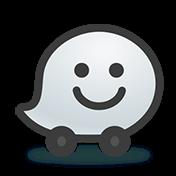 Waze: GPS, Maps, Traffic Alerts and Live Navigation иконка