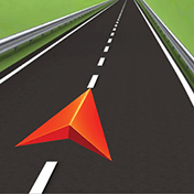 GPS Navigation: Drive with Voice, Maps and Traffic иконка