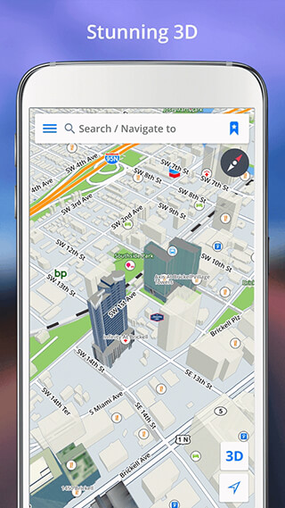 GPS Navigation: Drive with Voice, Maps and Traffic скриншот 4