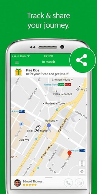 Grab: Cars, Bikes and Taxi Booking App скриншот 4