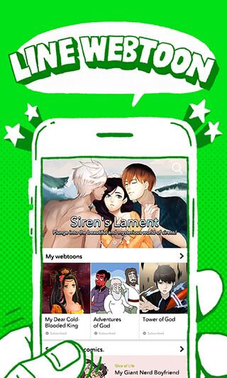 LINE WEBTOON: Free Comics скриншот 1