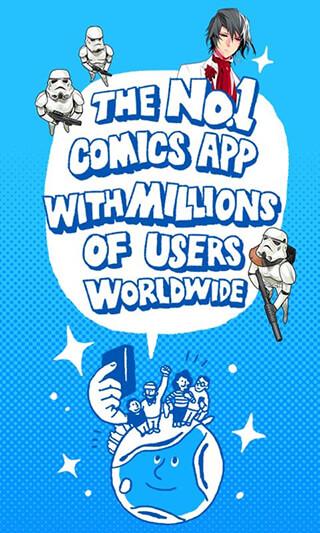 LINE WEBTOON: Free Comics скриншот 2