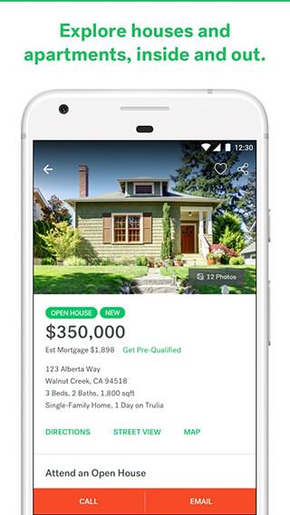 Trulia Real Estate and Rentals скриншот 2