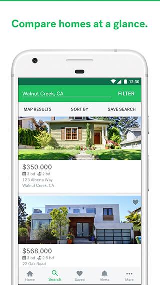 Trulia Real Estate and Rentals скриншот 4
