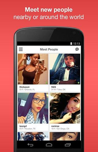 Moco: Chat, Meet People скриншот 2