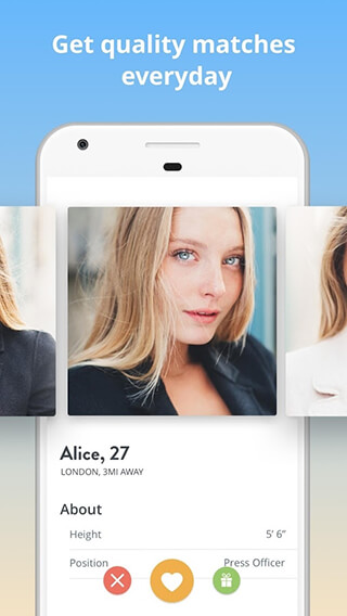 Once: the Slow Dating App скриншот 1
