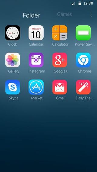 Theme for New Phone скриншот 1