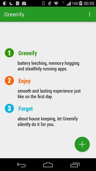 Greenify скриншот 1