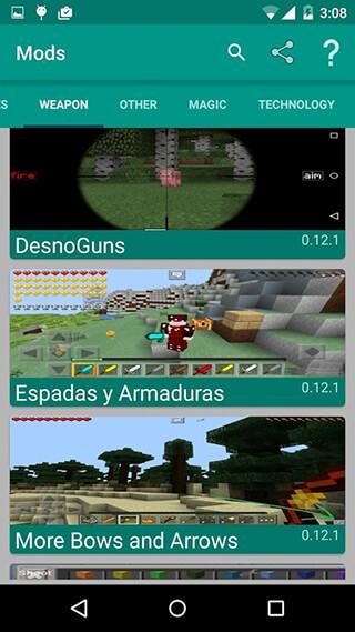 Mods for Minecraft скриншот 1