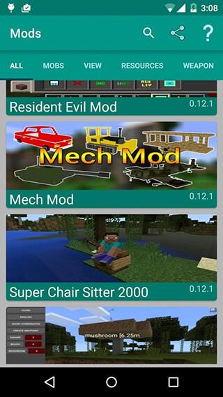 Mods for Minecraft скриншот 2