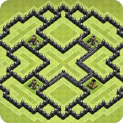 Maps of Clash of Clans 2017 иконка