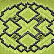 Maps of Clash of Clans 2017 иконка