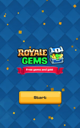 Royale Gems PRANK скриншот 1