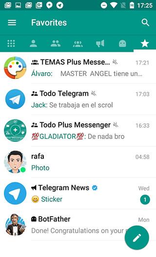 Plus Messenger скриншот 1