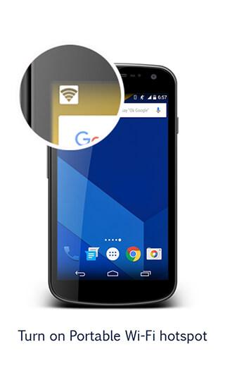 Portable Wi-Fi Hotspot скриншот 3